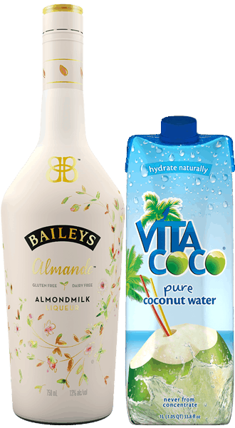 $5.00 for BAILEYS ALMANDE Almondmilk Liqueur & Vita Coco® Pure Coconut Water (expiring on Saturday, 07/01/2017). Offer available at multiple stores.