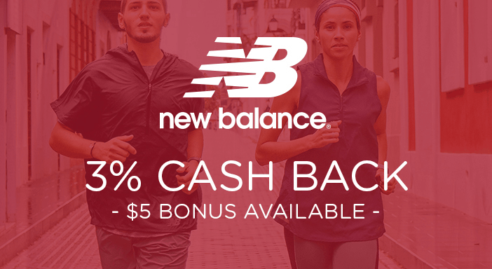 $0.00 for New Balance (expiring on Wednesday, 12/09/2020). Offer available at New Balance.