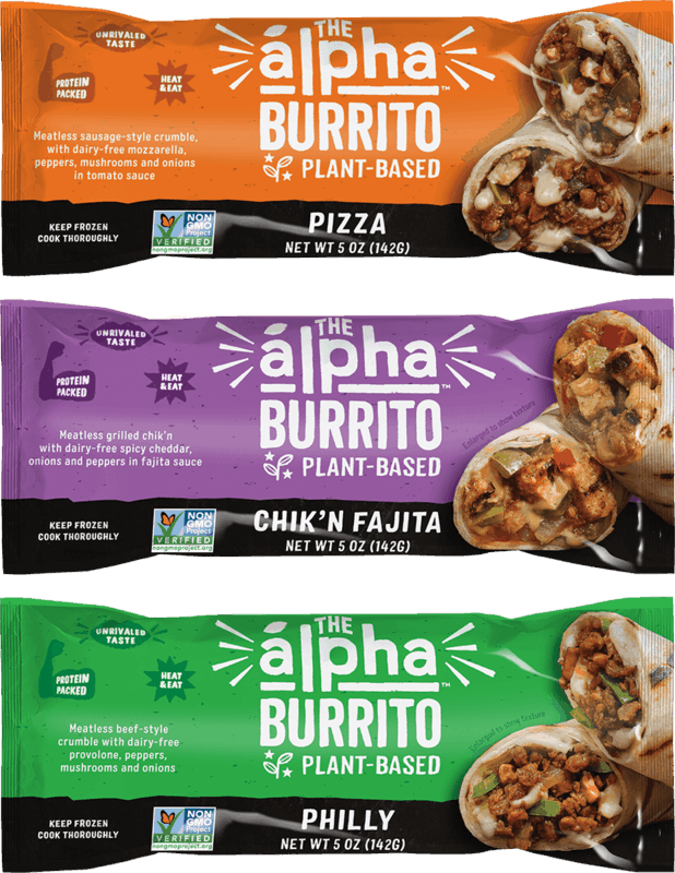 $1.00 for Alpha Foods Burrito (expiring on Wednesday, 11/10/2021). Offer available at multiple stores.