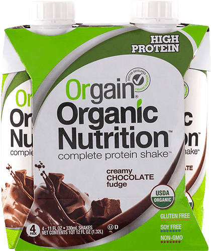 $1.25 for Orgain® Organic Nutritional Shake. Offer available at multiple stores.