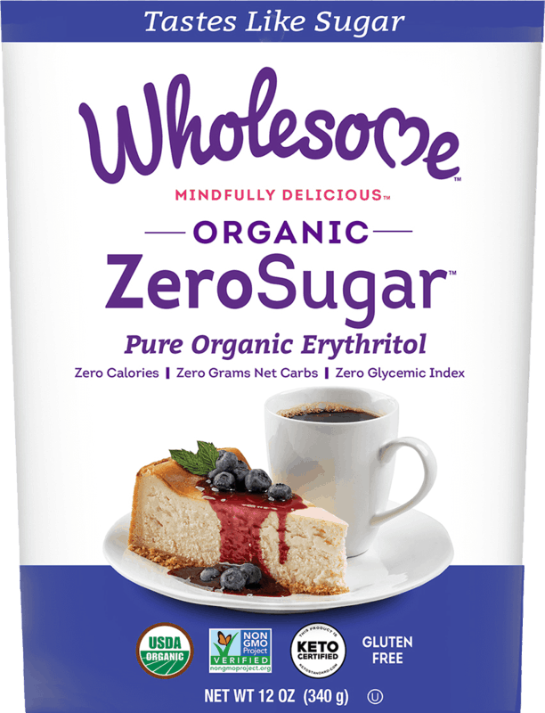 $1.00 for Wholesome ZeroSugar Organic Erythritol (expiring on Monday, 08/03/2020). Offer available at Sprouts Farmers Market.
