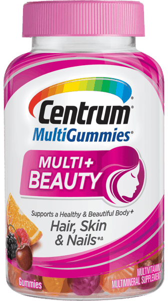 $2.00 for Centrum® MultiGummies® Multi + Beauty. Offer available at Walmart.