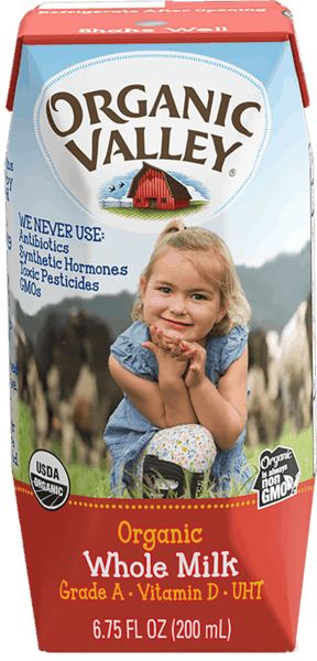 $4.00 for Organic Valley® Single Serve Milk Boxes. Offer available at Harris Teeter, Wegmans, Whole Foods Market®, Sprouts Farmers Market.