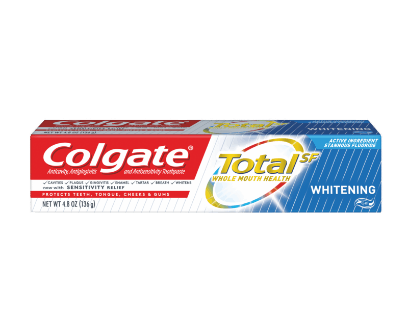 $1.00 for Colgate TotalSF Toothpaste. Offer available at multiple stores.