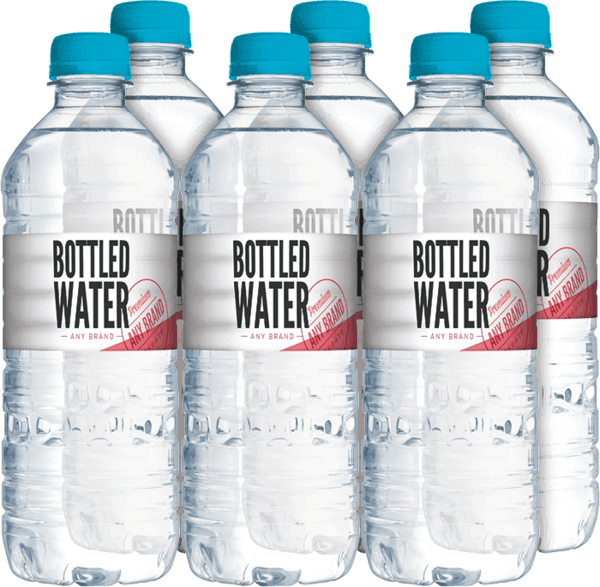 $0.25 for Bottled Water - Any Brand (expiring on Wednesday, 10/11/2017). Offer available at Walmart, Walgreens, Rite Aid.