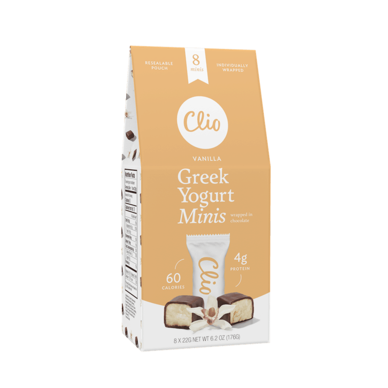 $1.00 for Clio Greek Yogurt Minis (expiring on Saturday, 02/01/2020). Offer available at Harris Teeter, Shaw's.