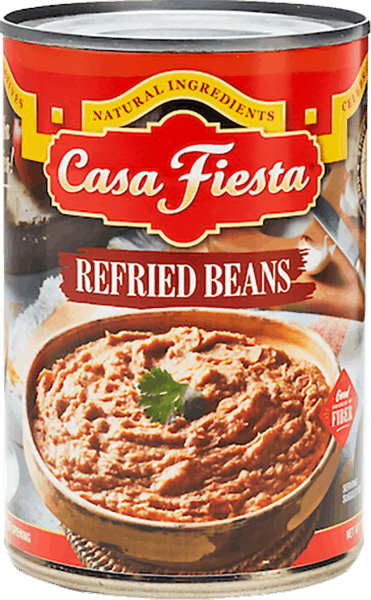 $1.25 for Casa Fiesta® Refried Beans or Enchilada Sauce (expiring on Monday, 04/02/2018). Offer available at multiple stores.