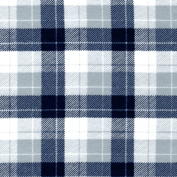 $0.50 for Skylar Navy Gray Plaid Fabric (expiring on Tuesday, 04/02/2019). Offer available at JOANN .