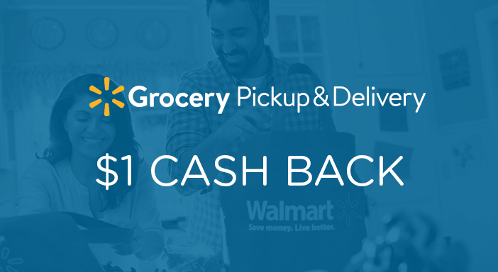 $1.00 for Walmart Grocery (expiring on Friday, 10/31/2025). Offer available at Walmart Grocery Pickup.