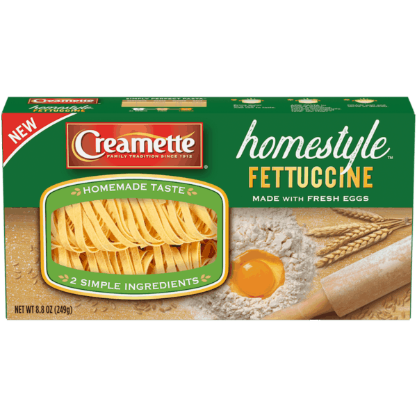 $0.75 for Creamette® Homestyle™ (expiring on Wednesday, 10/02/2019). Offer available at Kroger, Food4Less.