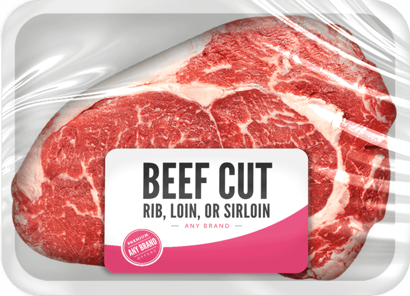$1.00 for Any Brand Fresh Beef Cuts (expiring on Tuesday, 11/03/2020). Offer available at multiple stores.