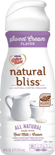 $0.50 for NESTLÉ® COFFEE MATE® natural bliss® Coffee Creamer (expiring on Tuesday, 04/04/2017). Offer available at Walmart.
