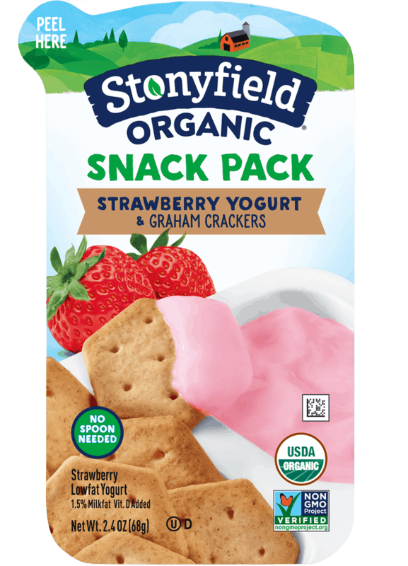 $0.75 for Stonyfield® Snack Pack (expiring on Monday, 09/30/2019). Offer available at Walmart.
