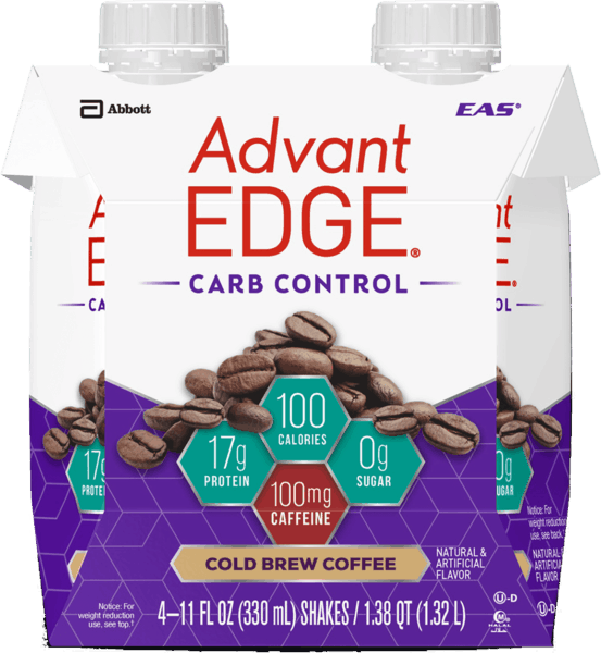 $1.50 for EAS® AdvantEDGE® Carb Control™ Cold Brew Coffee (expiring on Saturday, 06/02/2018). Offer available at Walmart.