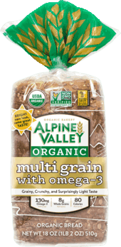 $0.75 for Alpine Valley™ Bakery Bread (expiring on Wednesday, 08/01/2018). Offer available at multiple stores.