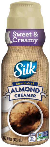 $0.75 for Silk® Almond Creamer (expiring on Saturday, 03/31/2018). Offer available at multiple stores.
