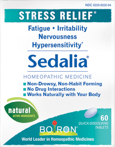 $1.00 for Boiron® Sedalia® (expiring on Wednesday, 08/01/2018). Offer available at Giant Eagle, Wegmans, Whole Foods Market®, Sprouts Farmers Market, Vitamin Shoppe.