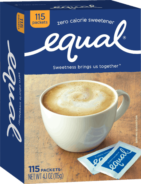 $1.00 for Equal® Zero Calorie Sweetener. Offer available at multiple stores.