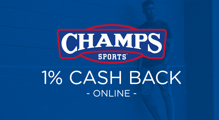$0.00 for Champs.com (expiring on Tuesday, 12/31/2019). Offer available at Champs.com.