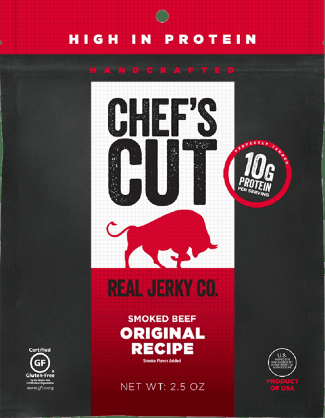 $0.50 for Chef's Cut Real Jerky Co.™ (expiring on Wednesday, 01/02/2019). Offer available at Ingles, Harris Teeter, Wegmans, Jewel-Osco.