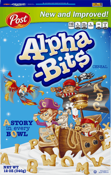 $0.35 for Alpha-Bits® (expiring on Wednesday, 01/02/2019). Offer available at multiple stores.