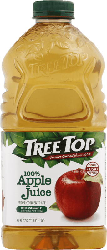 $0.75 for Tree Top 100% Juice (expiring on Sunday, 08/02/2020). Offer available at Kroger.