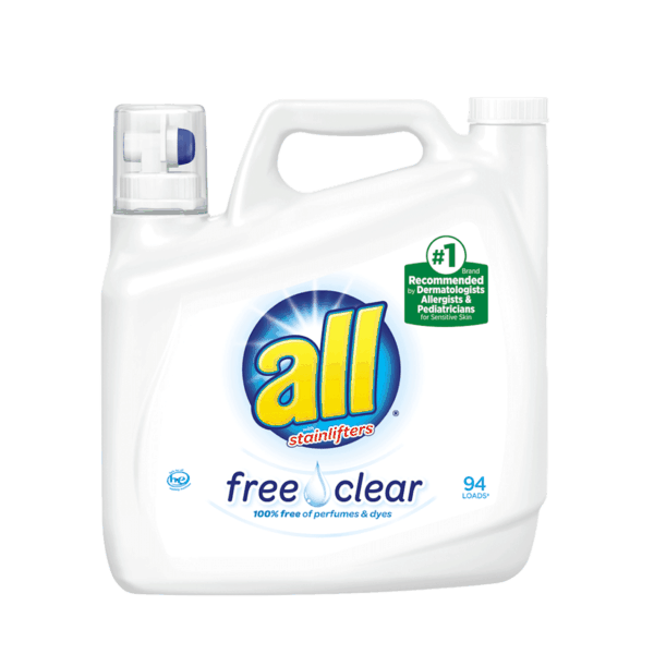 $1.00 for all® Free Clear Laundry Detergent (expiring on Tuesday, 02/19/2019). Offer available at Walmart.