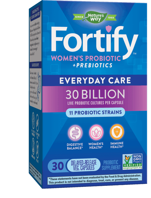 $2.00 for Fortify Probiotics from Nature's Way (expiring on Friday, 05/15/2020). Offer available at multiple stores.