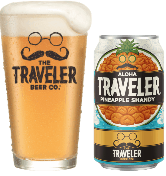 $1.00 for Traveler Shandy (expiring on Wednesday, 08/01/2018). Offer available at Any Restaurant, Any Bar.