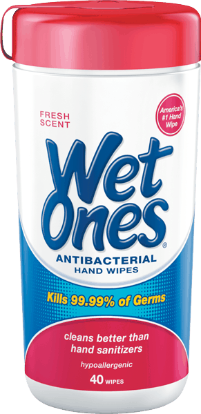 $0.50 for Wet Ones® Hand Wipes (expiring on Sunday, 04/02/2017). Offer available at Walmart.
