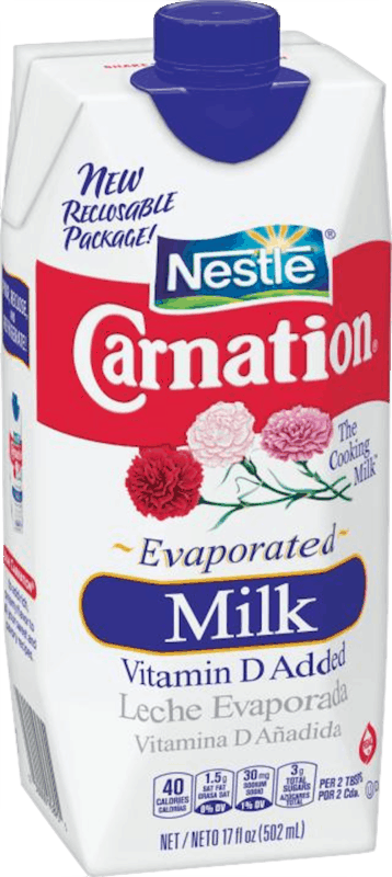 $1.00 for Nestlé® Carnation® Evaporated Milk. Offer available at Walmart.