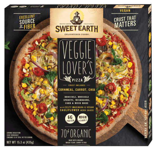 $1.00 for Sweet Earth Foods Pizza (expiring on Thursday, 05/02/2019). Offer available at multiple stores.
