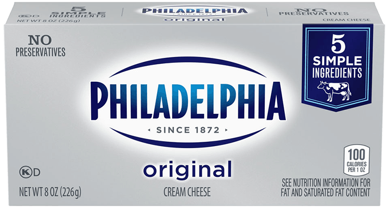 $0.50 for PHILADELPHIA Original Cream Cheese. Offer available at multiple stores.