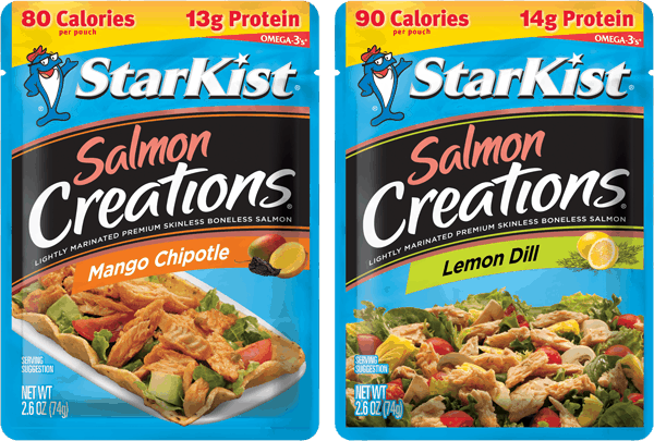 $0.50 for StarKist® Salmon Pouches (expiring on Sunday, 12/31/2017). Offer available at multiple stores.
