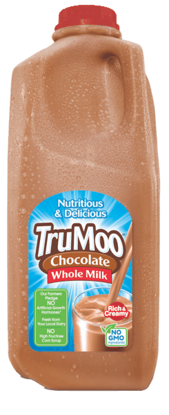 $0.75 for TruMoo® Chocolate Milk (expiring on Thursday, 11/01/2018). Offer available at multiple stores.
