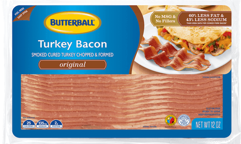 $0.35 for Butterball Original Turkey Bacon (expiring on Monday, 09/20/2021). Offer available at multiple stores.
