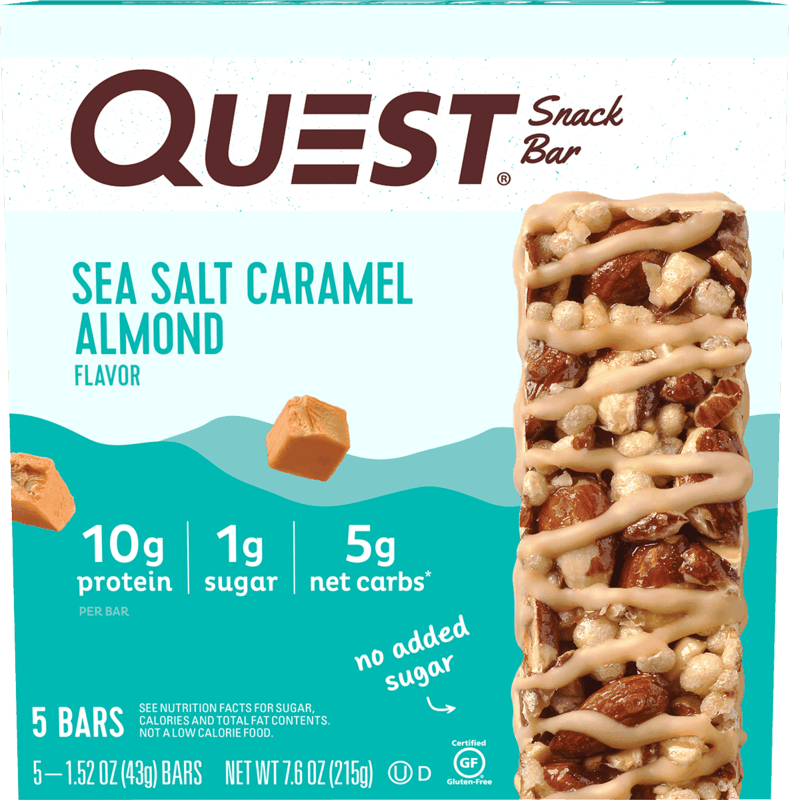 $1.50 for Quest Snack Bar. Offer available at Walmart, Walmart Pickup & Delivery.