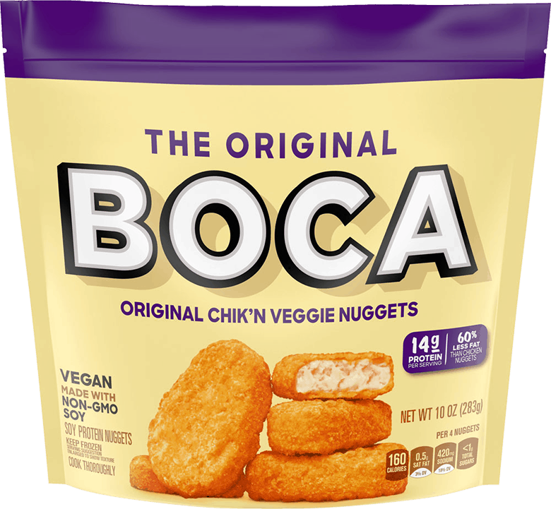 $1.00 for BOCA Veggie Nuggets (expiring on Sunday, 08/02/2020). Offer available at Sprouts Farmers Market.