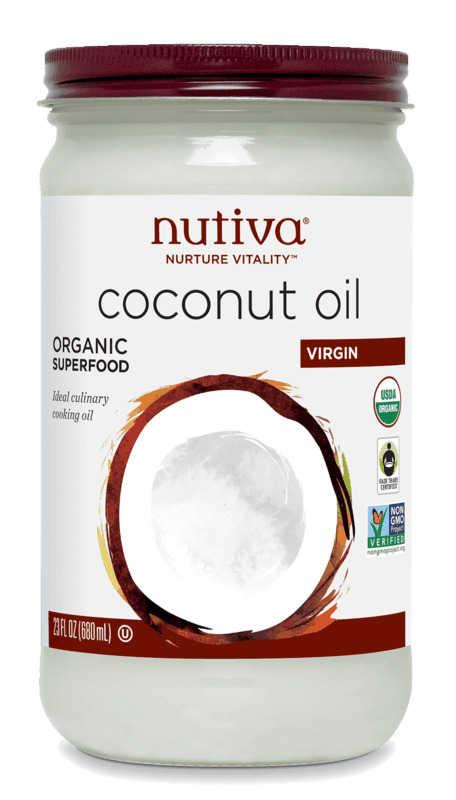 $1.00 for Nutiva® Organic Virgin Coconut Oil (expiring on Wednesday, 10/02/2019). Offer available at multiple stores.