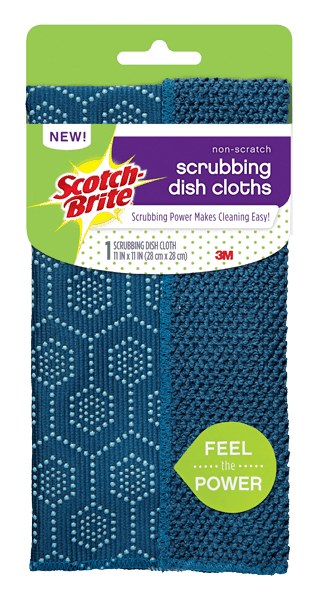 $0.50 for Scotch-Brite® Scrubbing Dish Cloth (expiring on Wednesday, 02/07/2018). Offer available at Dollar General.