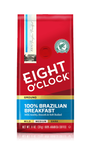 $1.00 for Eight O'Clock Coffee (expiring on Wednesday, 01/02/2019). Offer available at multiple stores.
