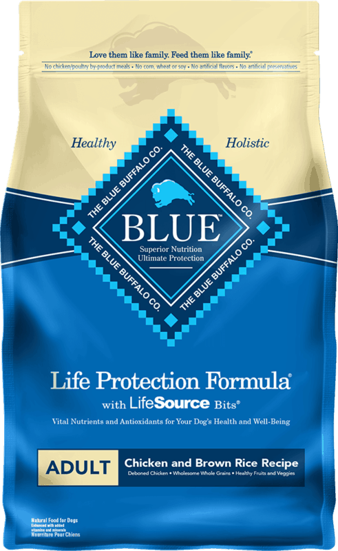 $3.00 for BLUE Life Protection Formula Dog Food (expiring on Monday, 08/02/2021). Offer available at multiple stores.