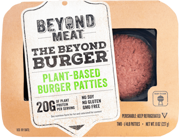 $1.00 for The Beyond Burger® from Beyond Meat®. Offer available at multiple stores.