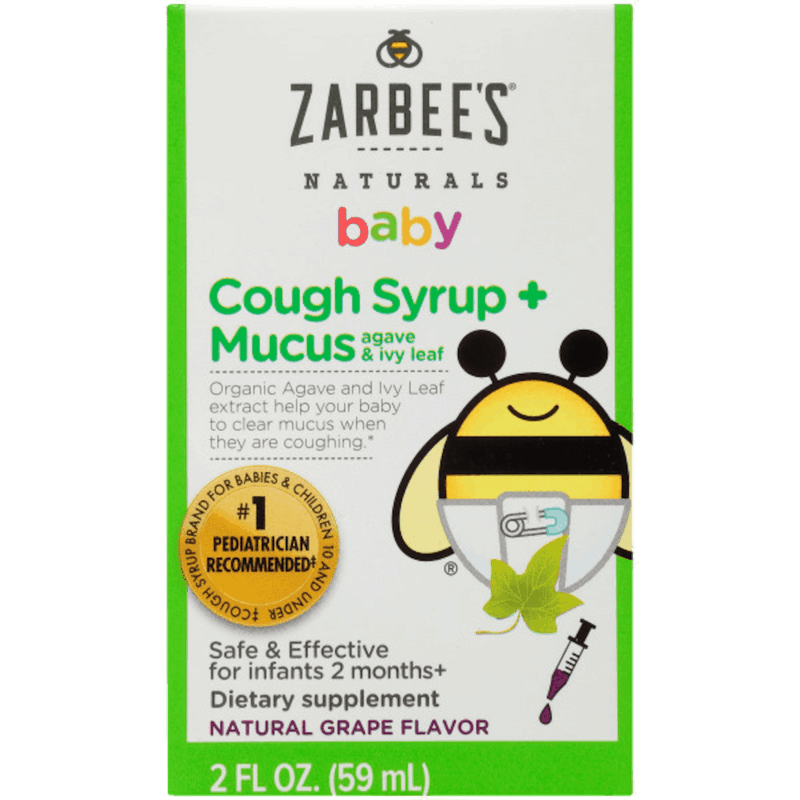 $0.50 for Any Zarbee's® Naturals Baby Cough Syrup (expiring on Thursday, 02/06/2020). Offer available at multiple stores.