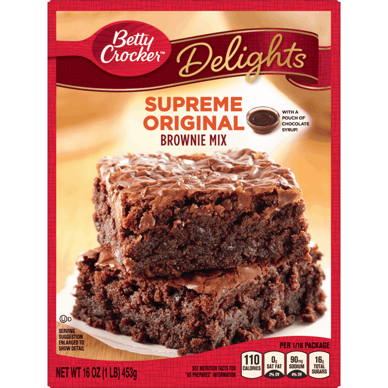 $1.00 for Betty Crocker™ Delights Brownie Mix (expiring on Sunday, 05/03/2020). Offer available at Walmart.