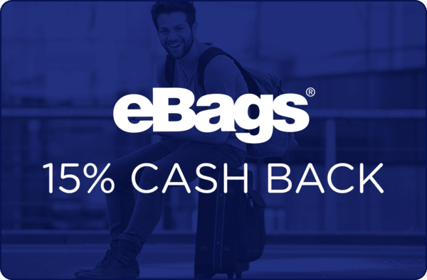 $0.00 for eBags (expiring on Wednesday, 12/13/2017). Offer available at eBags.