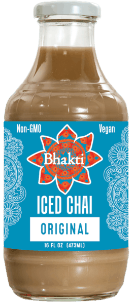 $0.50 for Bhakti Iced Chai (expiring on Sunday, 06/02/2019). Offer available at multiple stores.