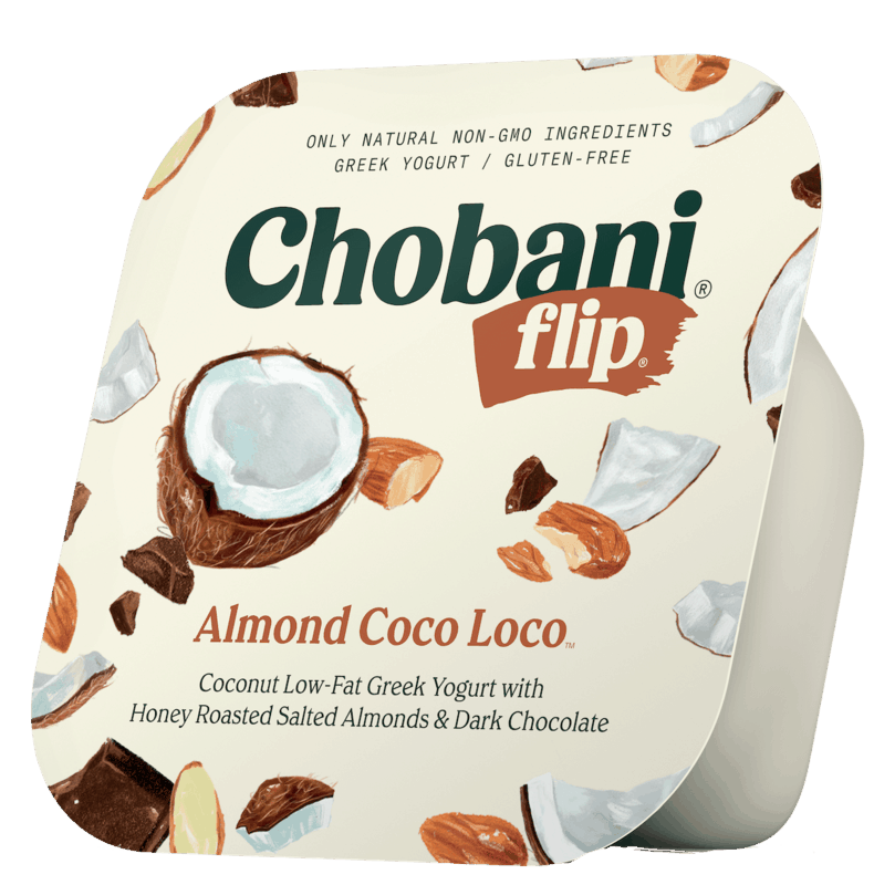 $1.00 for Chobani® Flip® (expiring on Monday, 03/09/2020). Offer available at Walmart.