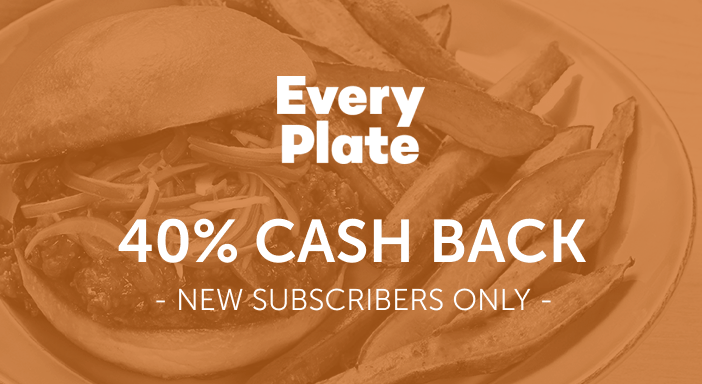 $0.00 for EveryPlate (expiring on Monday, 04/19/2021). Offer available at EveryPlate.