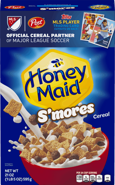 $0.35 for Honey Maid® S'mores Cereal (expiring on Wednesday, 01/02/2019). Offer available at multiple stores.